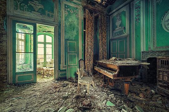 Lugares                             abandonados 12