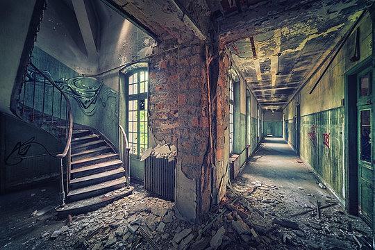 Lugares                             abandonados 39