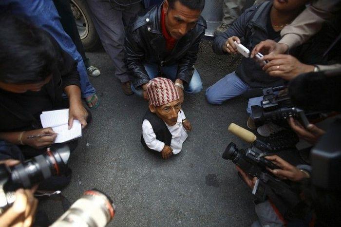 непал, маленький человек, карлик, рекорд
