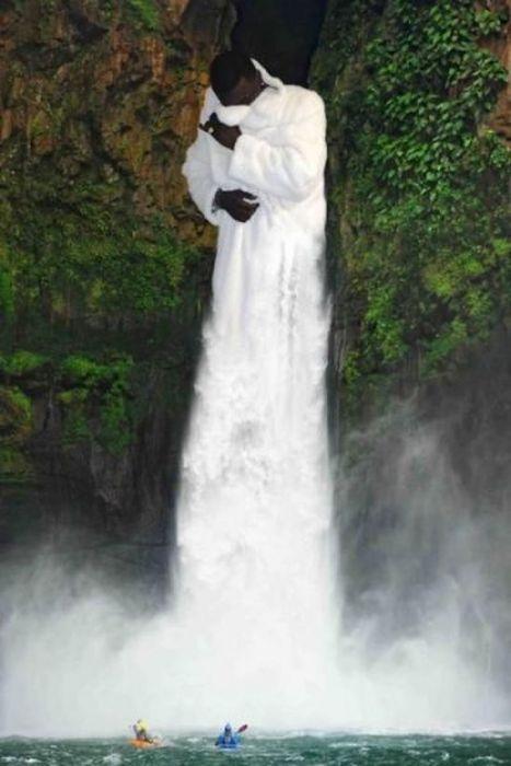 Яркие фото водопад