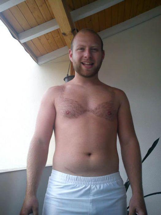 Фотоприкол онлайн волосатая грудь