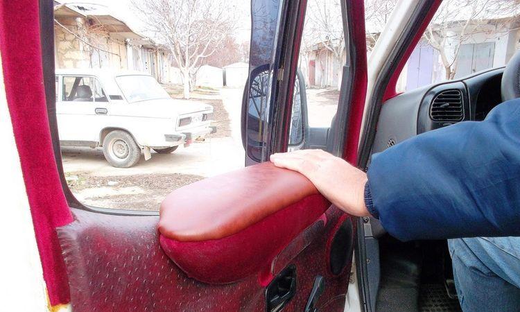 авто, подлокотник, своими руками,