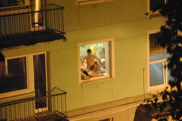 фото секса в окнах