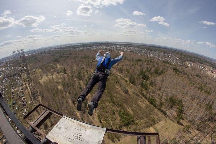 полет, адреналин, прыжки, спорт