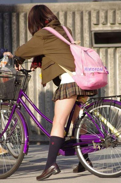 школьницы, пробки, столица, шоссе, велосипед