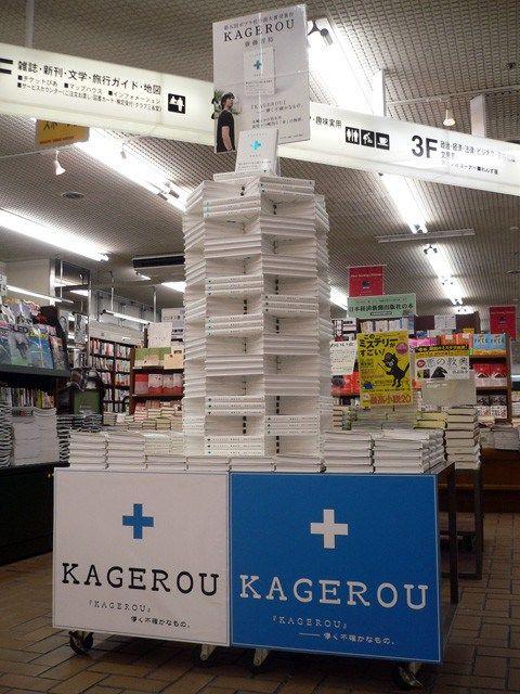 Искусство раскладывания книг в японских магазинах  (19 фото)