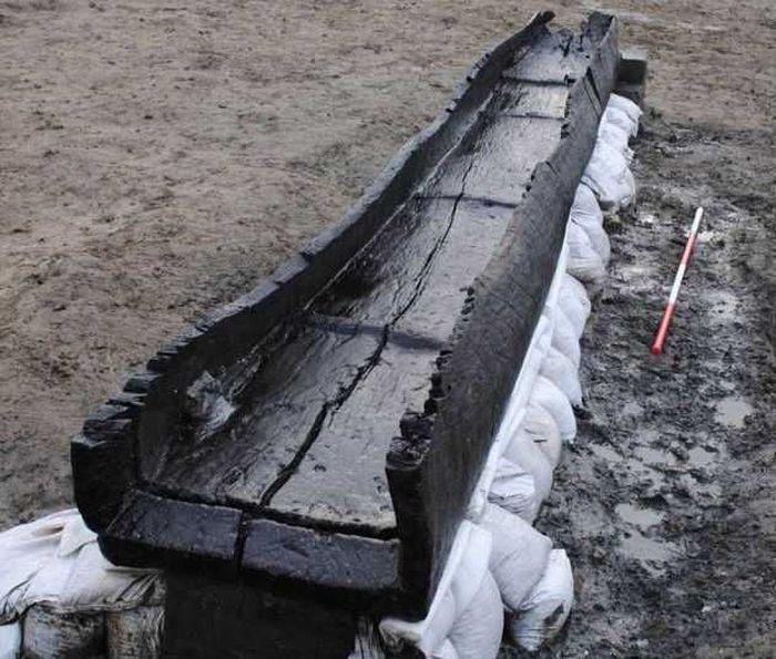 лодка, флот, археолог, находка