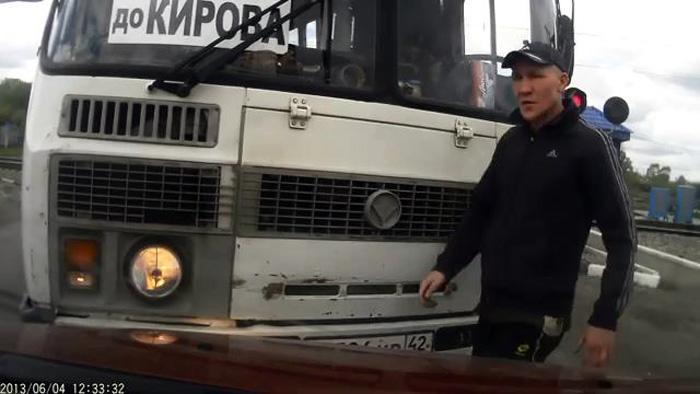 В Кемерово водитель