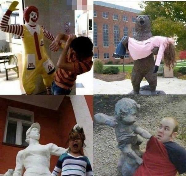 Interactuando con las esculturas Pamjatnik05