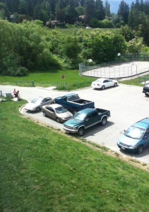 Юмор парковка, стоянка