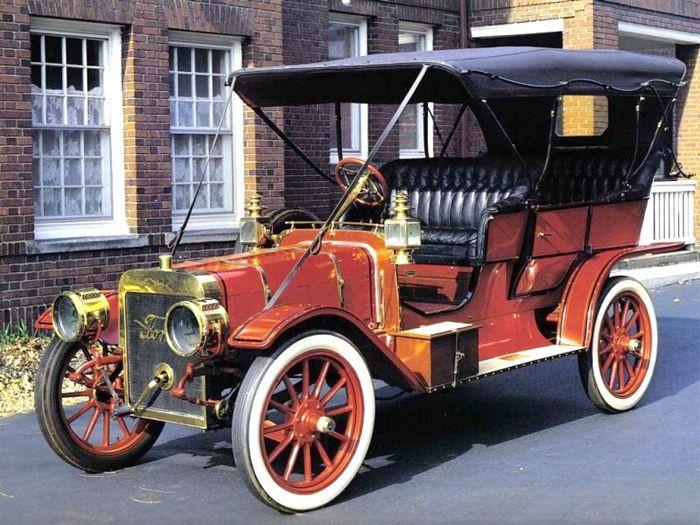 авто, ford model k, история, ретро авто,
