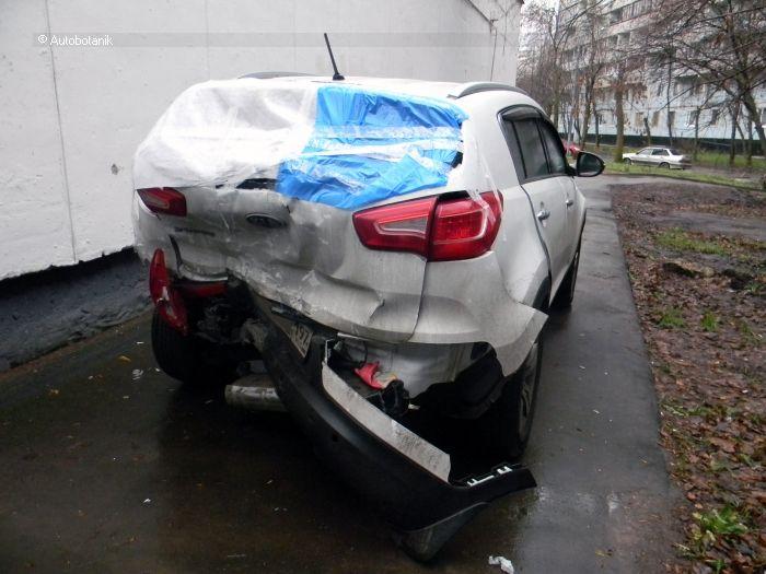 авто, kia sportage, ремонт авто, восстановление,