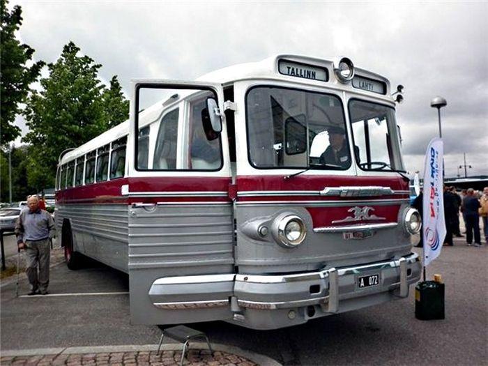 авто, автобусы, ссср, зис-127