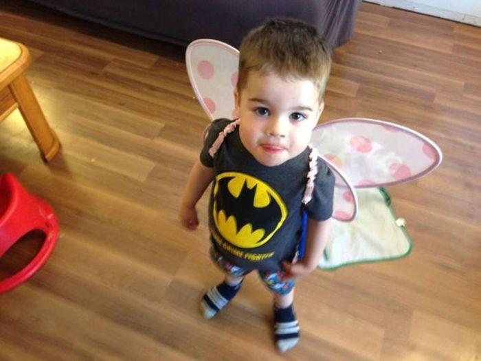 Бугагашеньки бабочка, бэтмен
