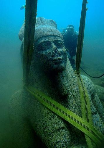 Heraclion, la ciudad perdida bajo el mar 016