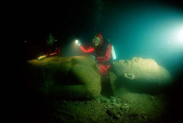 Heraclion, la ciudad perdida bajo el mar 04