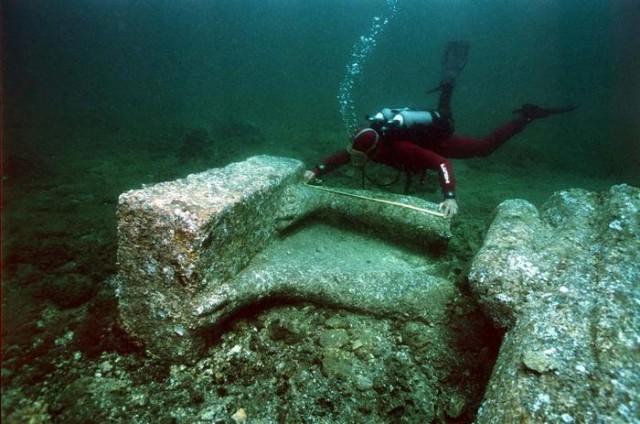 Heraclion, la ciudad perdida bajo el mar 06