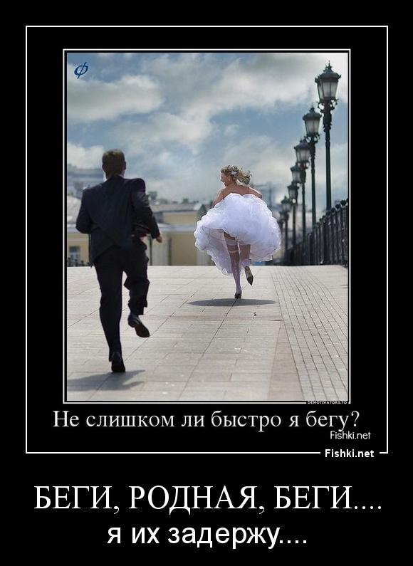 Беги, родная, беги....