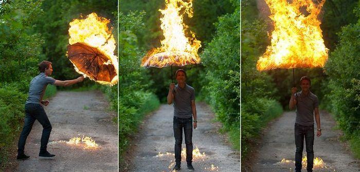 Фотоподборка зонт, зонтик, огонь, пожар