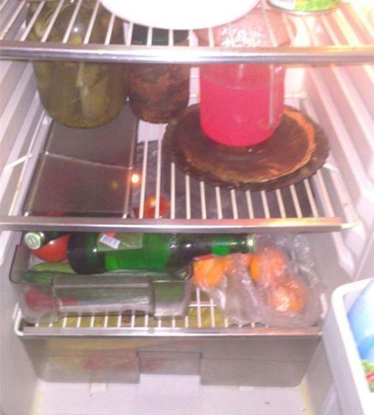 находка, мясо, продукты, холодильник
