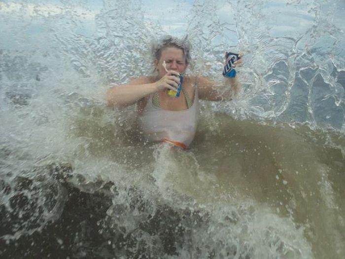 Прекрасные фото волна