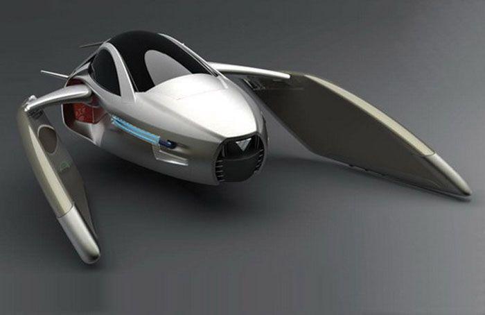 авто, летающая машина, летающие авто