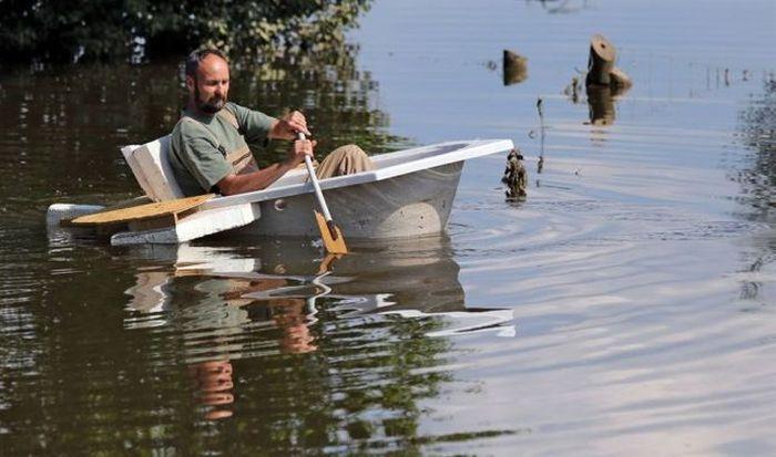 Фото онлайн ванна, весло, лодка