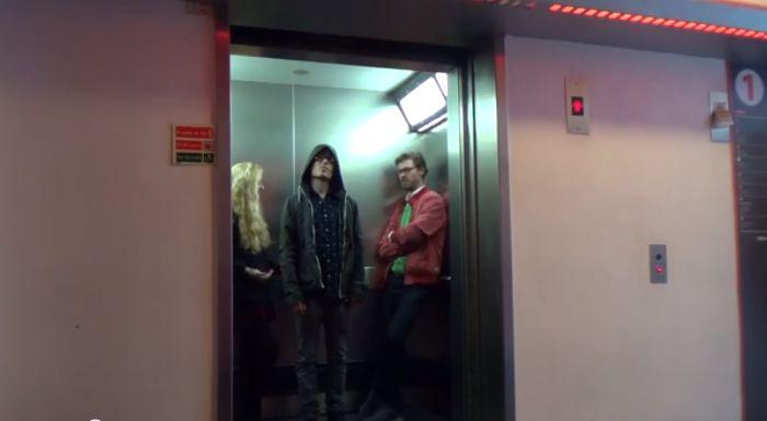 розыгрыш,лифт,звездные войны