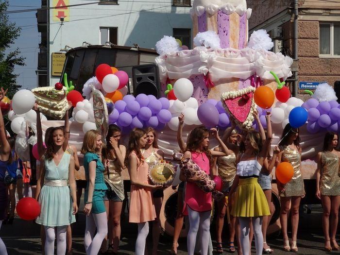 карнавал, пермь, праздник, день города