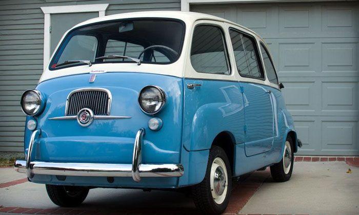 авто, найдено на ebay, fiat 600, fiat multipla
