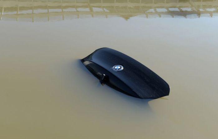 авто, потоп, затопление, утопленник, европа