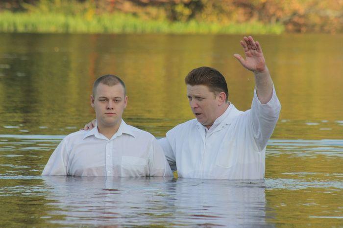 крещение, жестоко, человек