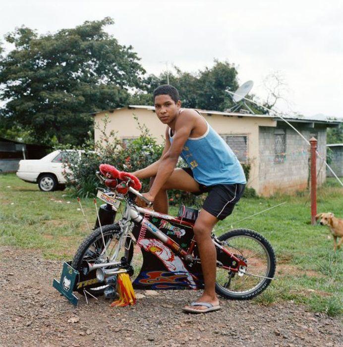 Юмор велосипед, навешал, прикол, украсил