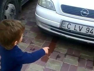 Юный автолюбитель