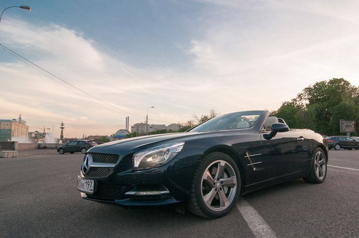авто, тест-драйв, mercedes-benz sl 500,
