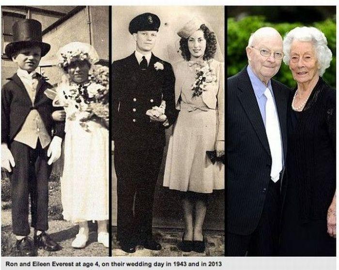 Юмор настоящая любовь, спустя время, старики, тогда и сейчас