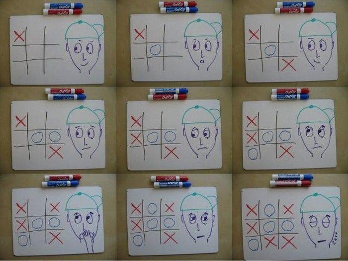 стратегия, игра, крестики нолики, математик