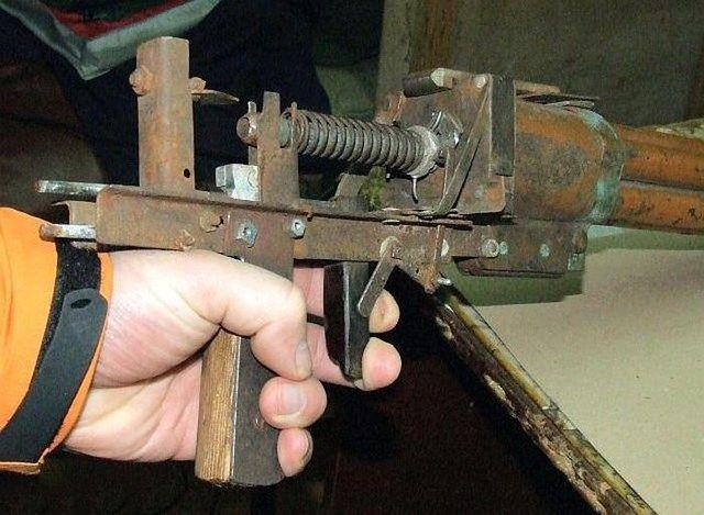 оружие, автомат, своими руками, мастерская