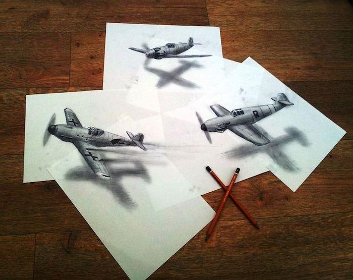 рисунки, художник, реальность, иллюстрация