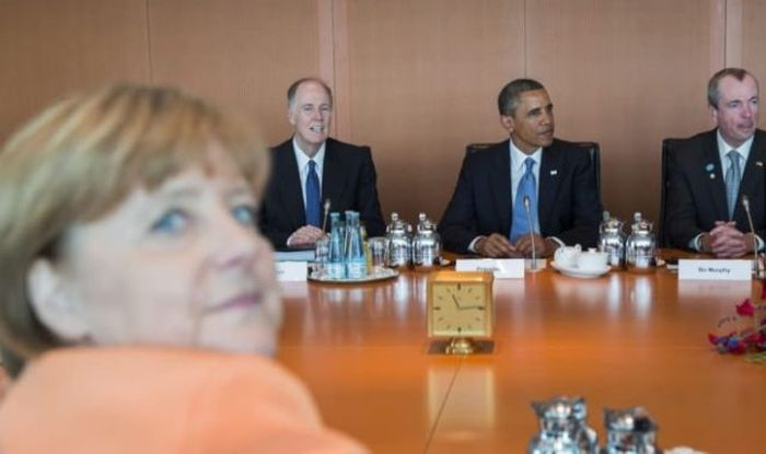 Новые фото ангела меркель, встреча, обама