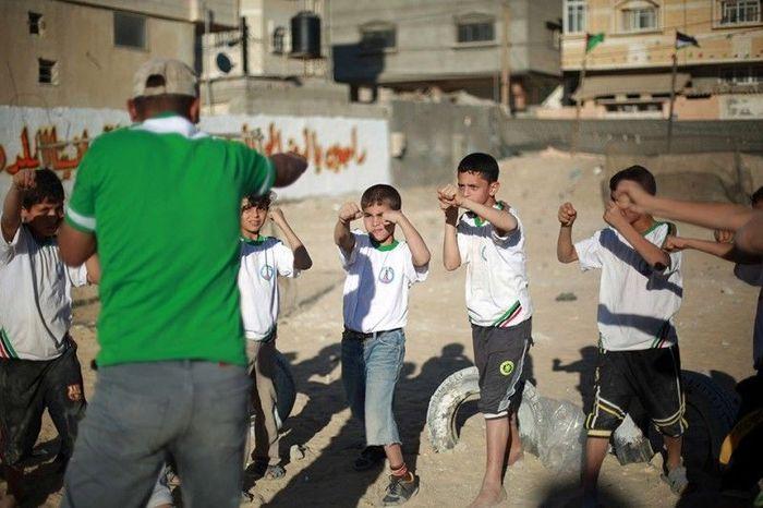 хамас, детский лагерь, жесть, палестина, сектор газа,