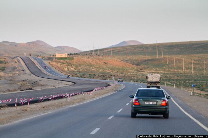 после появления дороги азербайджана фото целом саннивейле