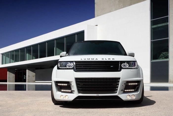 авто, тюнинг, range rover, vogue, lumma design, topcar,