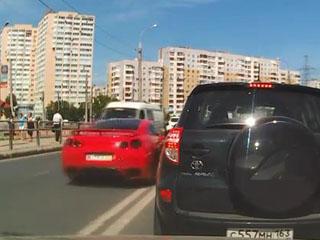 Авария с Nissan GT-R