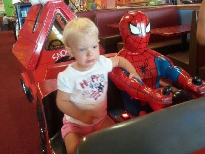 Прекрасные фото паровозик, ребенок, страх, человек паук