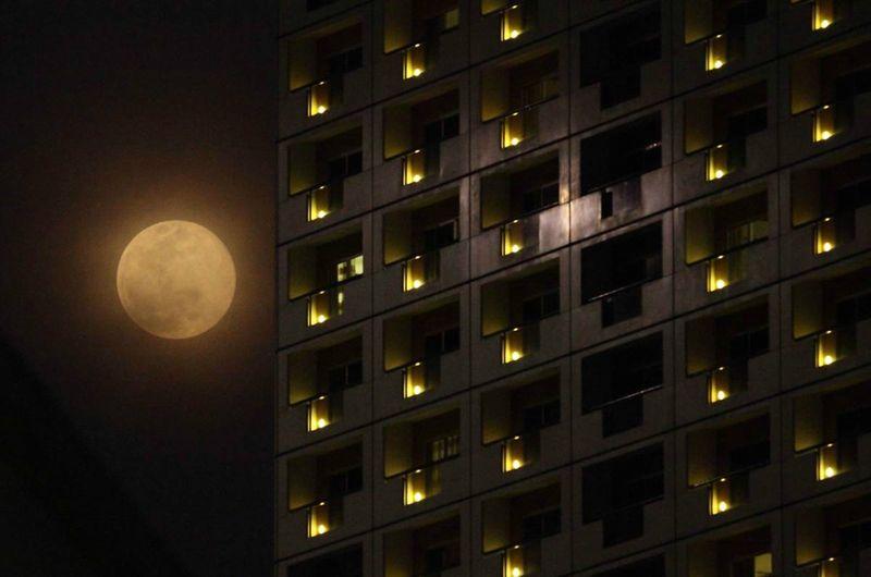 луна, земля, явление, космос