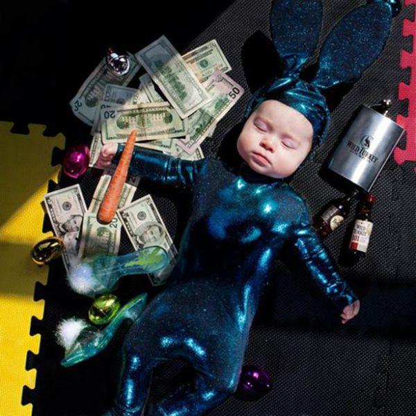 Фотоальбом деньги, костюм, прикол, ребенок