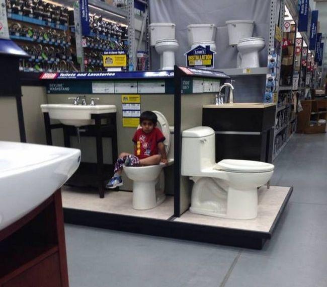 Прикол картинка магазин, прикол, ребенок, туалет