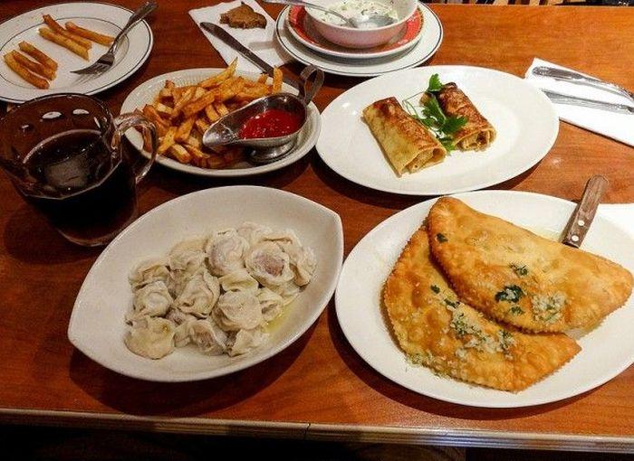 еда, сын, столовая, ресторан