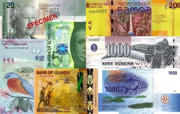 купюра, банкнота, знак, коллекционер